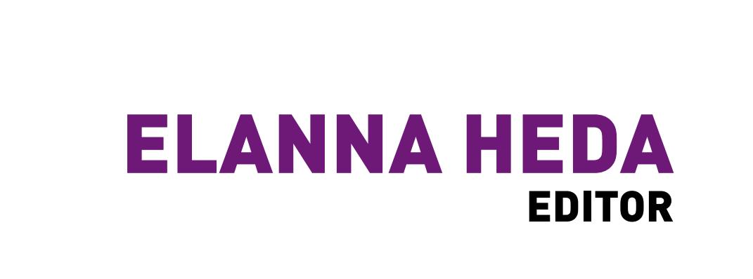 Elanna Heda, Editorial Specialist